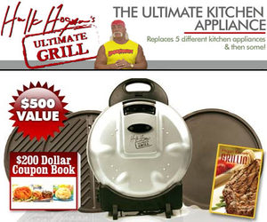 Hulk Hogan's Ultimate Grill - The Ultimate Kitchen Appliance!