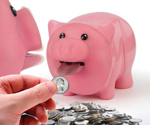 Hungry Piggy Bank Eats Your Money