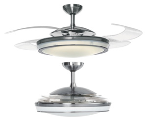 Hunter Fanaway - Retractable Blade Ceiling Fan / Pendant Light