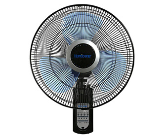 Hurricane Super 8 - Figure 8 Pattern Oscillating Wall Mount Fan