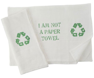 I Am Not A Paper Towel - Kitchen Towel Set
