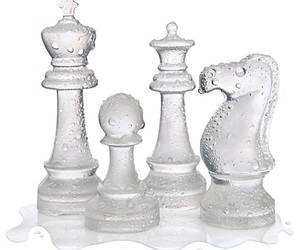 Ice Speed Chess Set