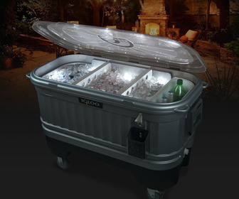 Igloo Illuminated Party Bar Cooler