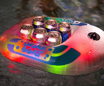 Illuminated Drink Boat Cooler