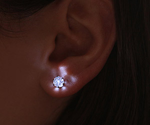 Illuminated LED Crystal Earrings