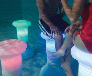 Illuminated Pool Barstool