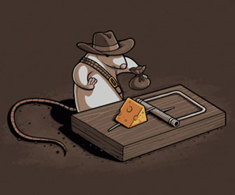 Indiana Jones Mouse T-Shirt
