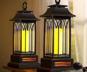 Indoor Infrared Lantern Heater