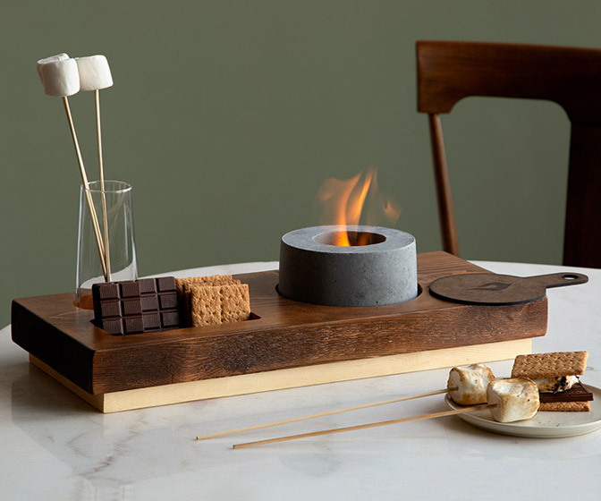 Indoor S'mores Fire Pit
