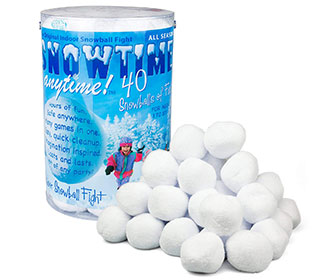 Indoor Snowballs