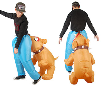 Inflatable Biting Dog Halloween Costume