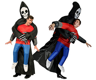Inflatable Grim Reaper Illusion Costume