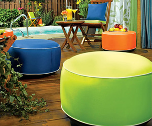 Inflatable Outdoor Ottomans