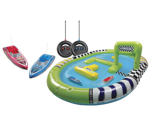 Inflatable RC Speedboat Water Raceway