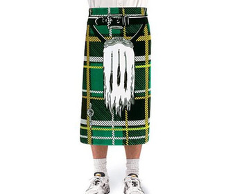 Instant Kilt Beach Towel