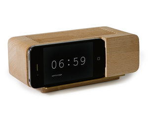 iPhone Wooden Alarm Clock