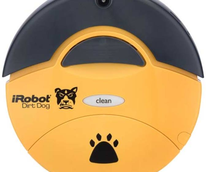 iRobot Dirt Dog Heavy Duty Cleaning Robot