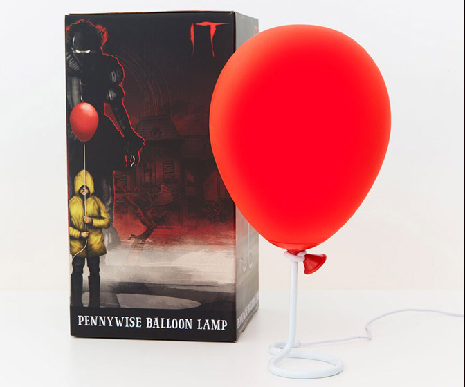 IT Pennywise Red Balloon Lamp