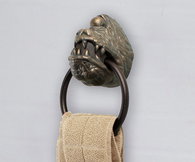 Jabba the Hutt's Dais Gargoyle Towel Ring