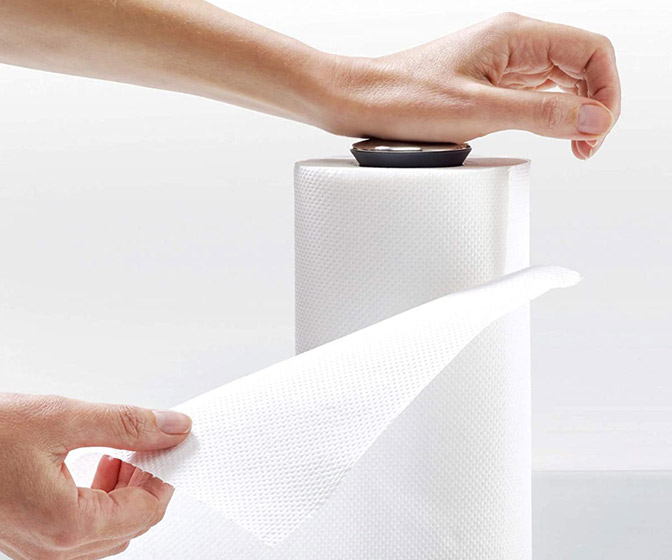 Joseph Joseph Push and Tear Paper Towel Holder
