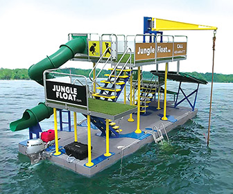 Jungle Float - Mobile Floating Water Park