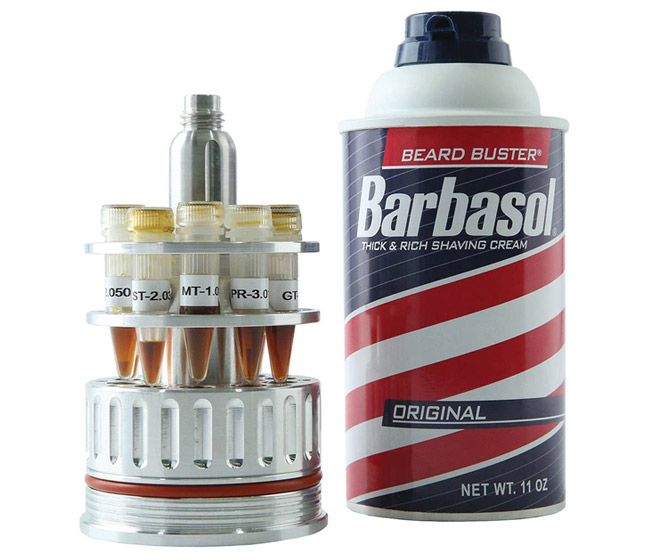 Jurassic Park Barbasol Shaving Cream CryoCan Replica