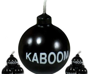 Kaboom Bomb Candles With Sparking Wicks