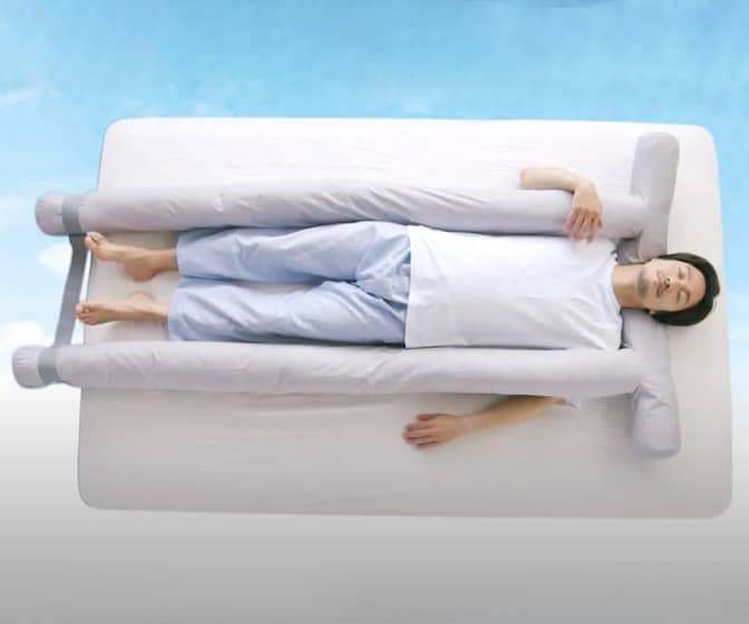 Kaiun Soyo Bed Air Conditioning Unit / Cooling Body Pillow
