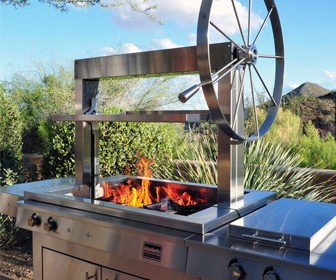Kalamazoo Gaucho - Freestanding Wood-Fired Grill