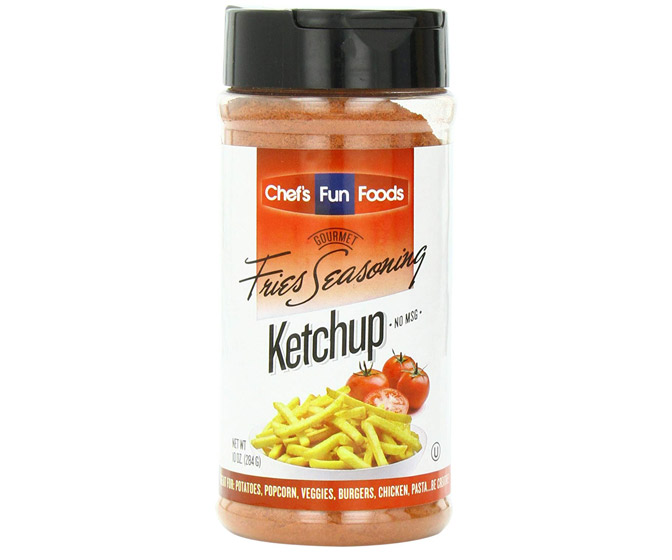 Ketchup Seasoning - Sprinkle on French Fries, Popcorn, and Potato Chips