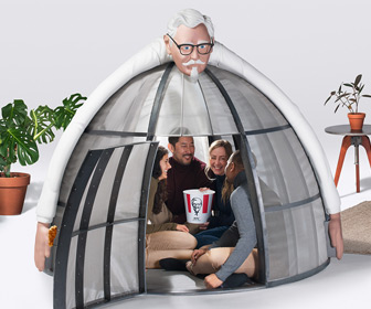 KFC Colonel Sanders Internet Escape Pod