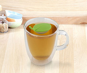 Kikkerland Floating Leaf Tea Infuser