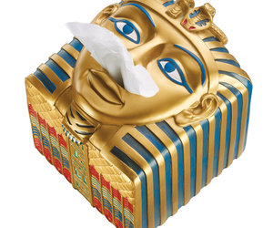 King Ah-Ah-Choo - Egyptian Tissue Box Cover