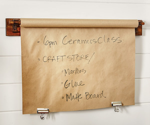 Kitchen Roll-Top Butcher Shop Paper Message Board