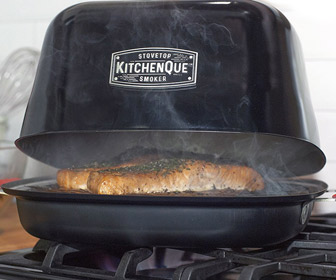 KitchenQue - Indoor Stovetop Smoker