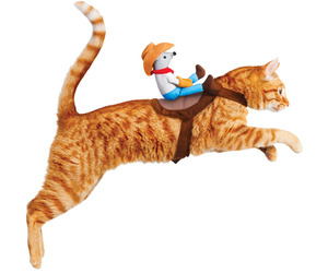 Kitty Up Cowboy Cat Costume