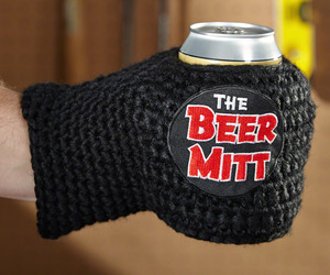 Knitted Beer Mitt