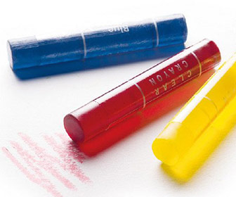 Kokuyo Transparent Gel Crayons