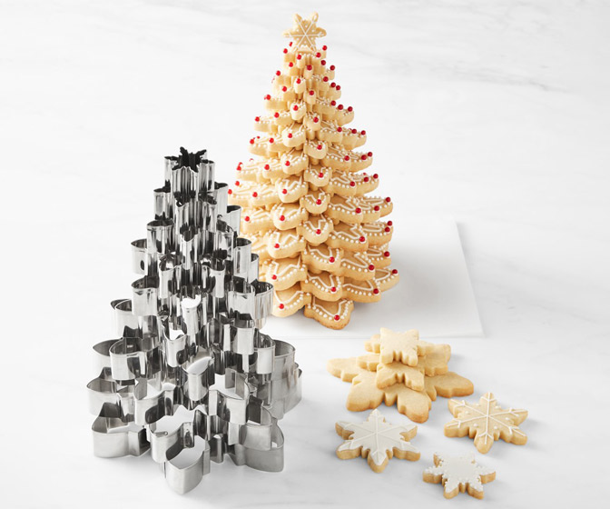 Kransekake Snowflake Cutters - Create Scandinavian Tiered Tower Cakes