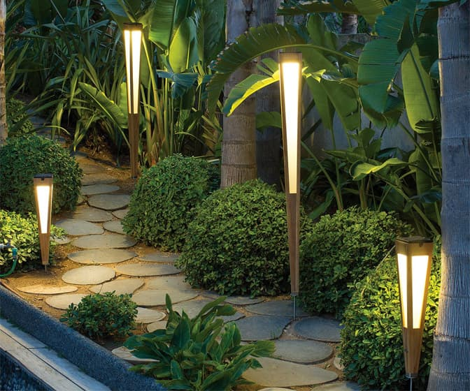 Lanai Solar Torch Lights
