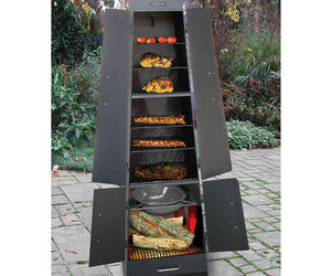 Landmann QuadQue - Ultimate Fireplace / Grill / Smoker