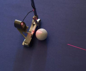 Laser Guided Putting Trainer