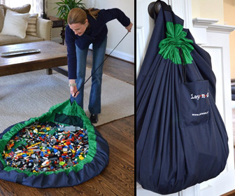 Lay-N-Go - Portable Activity Mat and Toy Storage Bag