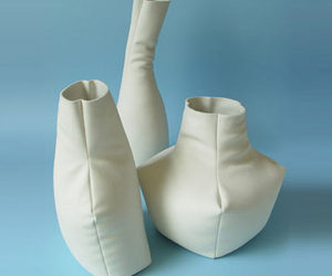 Leather Vases are Actually Porcelain