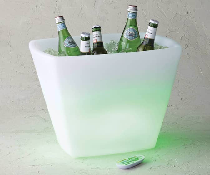 LED Color-Changing Beverage Tub