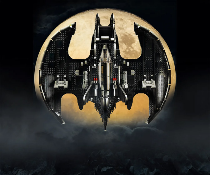 LEGO 1989 Batman Batwing - 2,363 Pieces!