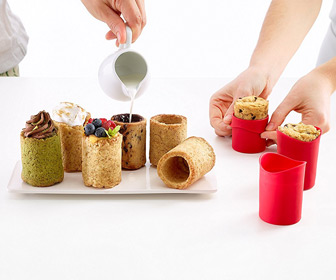 Lekue Cookie Shot Glass Molds