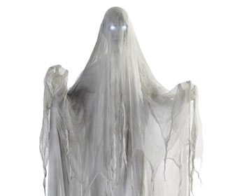 Life-Size Posable Ghost Figure