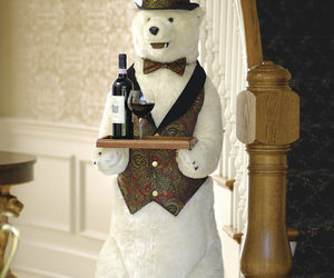 Life-Sized Polar Bear Butler