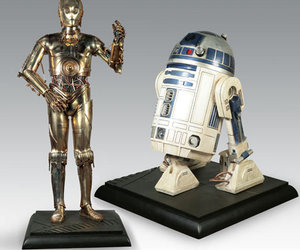 Lifesize C-3PO and R2-D2 Star Wars Droid Replicas